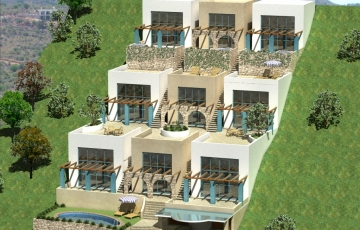Hotel Apartments Proposal in Loutro